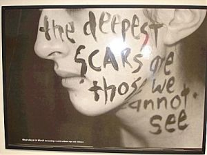 deepest scars are those you cannot see